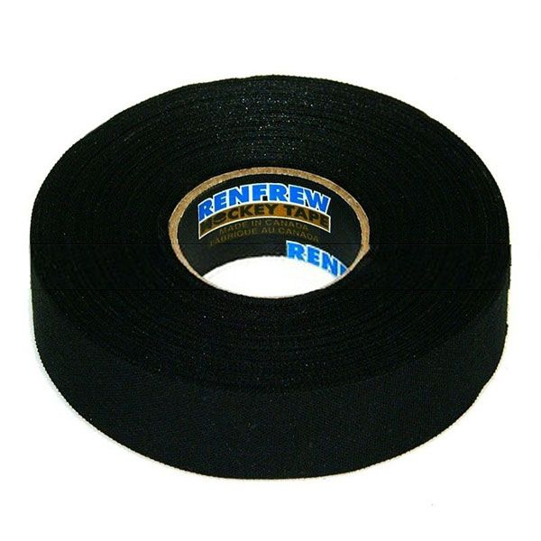 ЛЕНТА ДЛЯ КЛЮШЕК RENFREW CLOTH TAPE ЧЕРНАЯ 24ММ X18М