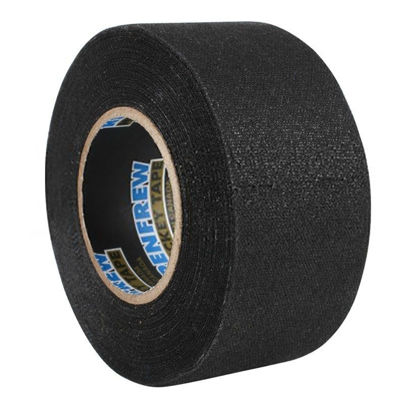 ЛЕНТА ДЛЯ КЛЮШЕК RENFREW CLOTH TAPE ЧЕРНАЯ 36ММ X25М