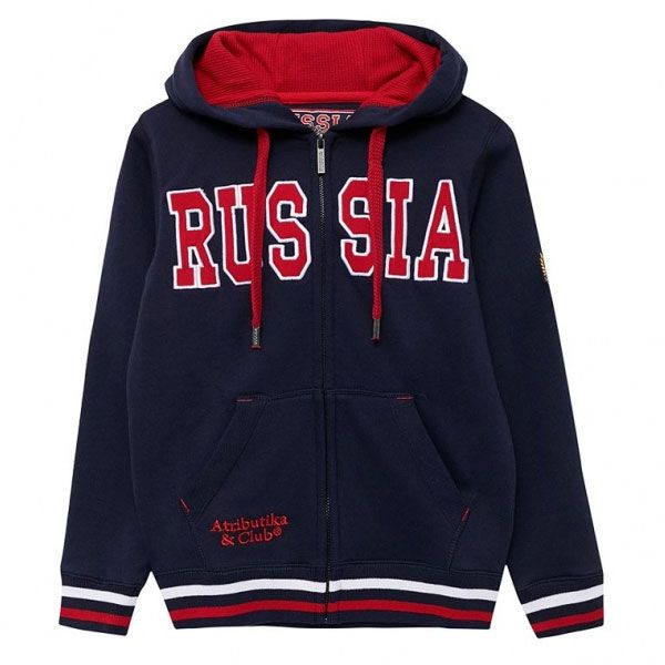 ТОЛСТОВКА С КАПЮШОНОМ ATRIBUTIKA & CLUB RUSSIA JR 155060