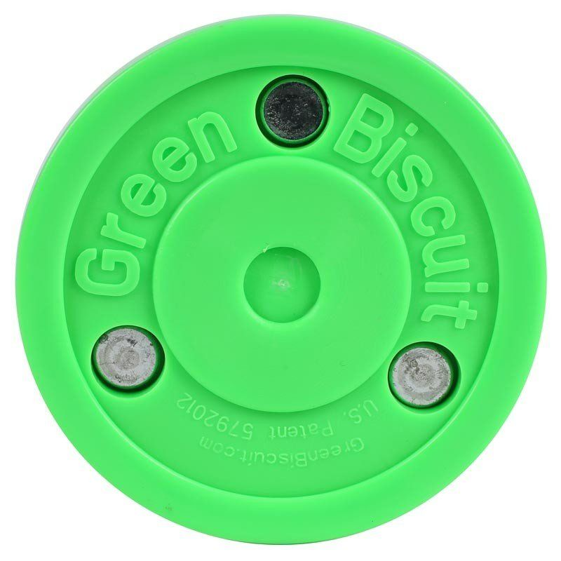 ШАЙБА ДЛЯ СТРИТ-ХОККЕЯ GREEN BISCUIT OFF-ICE TRAINING PUCK SR