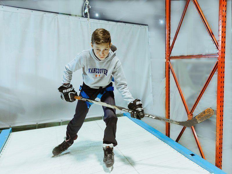 Беговая дорожка для хоккеистов (Treadmill)