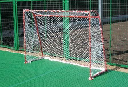 Ворота хоккейные для зала, дома с сеткой.