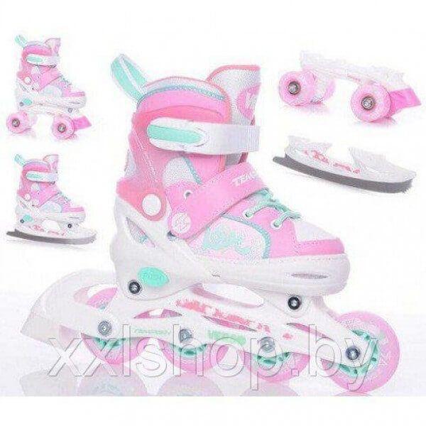 Роликовые коньки Tempish VERSO II GIRL triple roller skates (раздвижные)