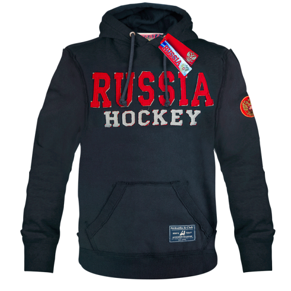 ТОЛСТОВКА С КАПЮШОНОМ ATRIBUTIKA & CLUB RUSSIA HOCKEY SR
