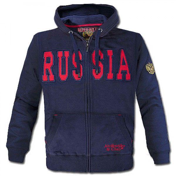 ТОЛСТОВКА С КАПЮШОНОМ ATRIBUTIKA & CLUB RUSSIA SR 155140