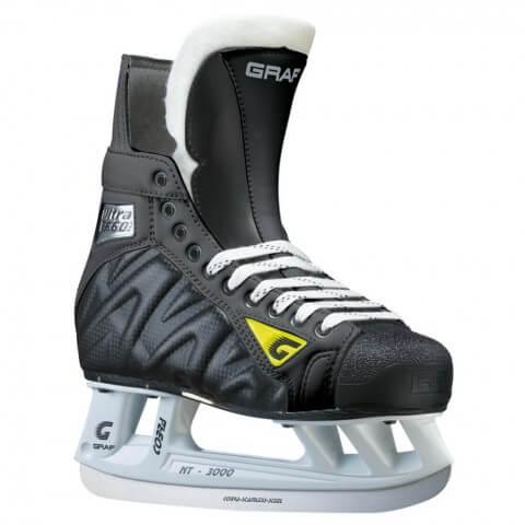 Коньки хоккейные GRAF ULTRA F-60, LS 2 All Black
