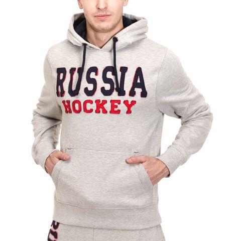 ТОЛСТОВКА С КАПЮШОНОМ ATRIBUTIKA & CLUB RUSSIA HOCKEY VINTAGE SR