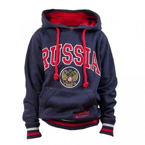 ТОЛСТОВКА С КАПЮШОНОМ ATRIBUTIKA & CLUB RUSSIA JR 155050