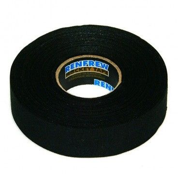 ЛЕНТА ДЛЯ КЛЮШЕК RENFREW CLOTH TAPE ЧЕРНАЯ 24ММ X25М