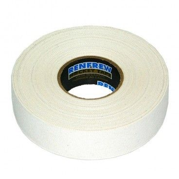 ЛЕНТА ДЛЯ КЛЮШЕК RENFREW CLOTH TAPE БЕЛАЯ 24ММ X50М