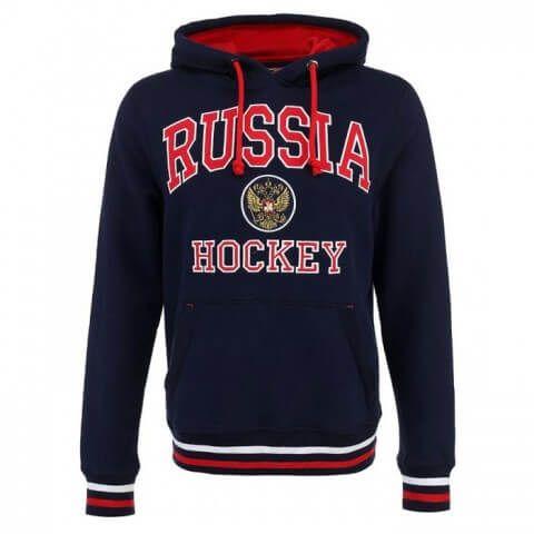 ТОЛСТОВКА С КАПЮШОНОМ ATRIBUTIKA & CLUB RUSSIA HOCKEY ГЕРБ SR